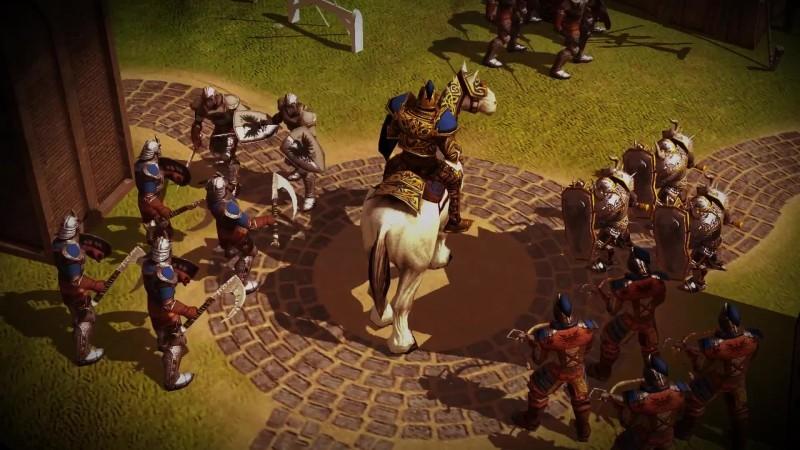 Трейлер мобильной Spellforce - Heroes & Magic