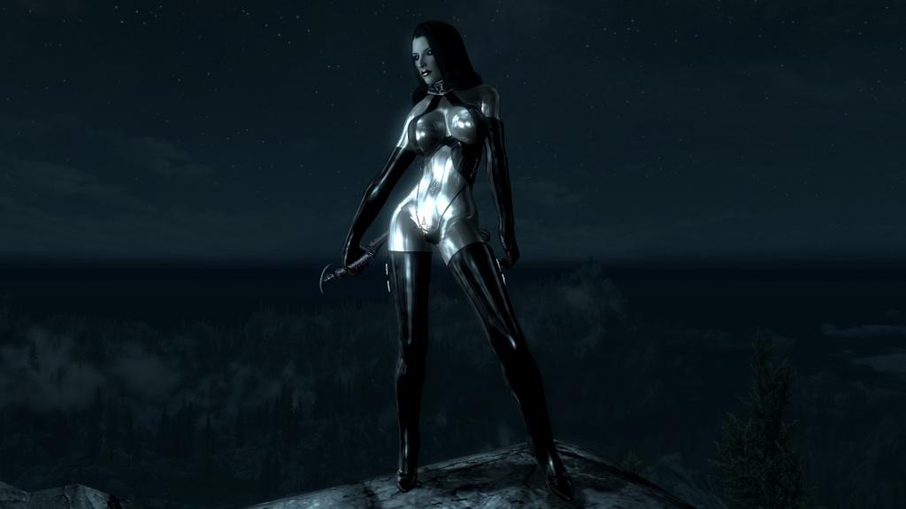 Skyrim сексуальная одежда тела cbbe