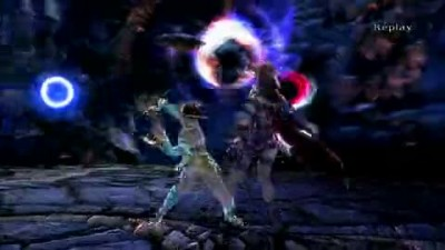 "SoulCalibur V ""Viola vs Leixia Gameplay"""