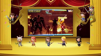 "Theatrhythm Final Fantasy ""Curtain Call - E3 2014 Трейлер"""