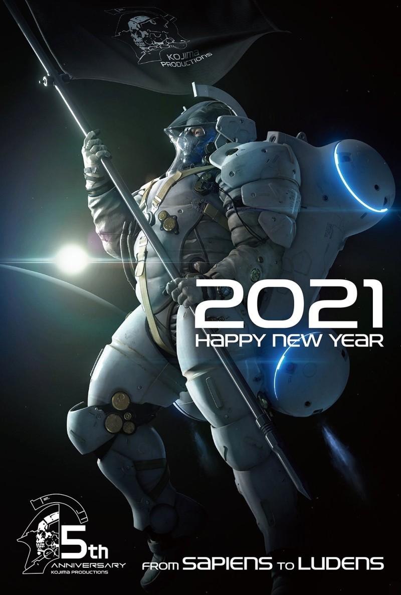 Хидэо Кодзима поздравил всех с Новым годом