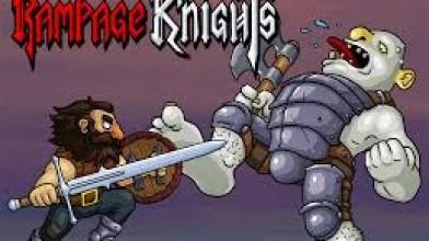 Rampage Knights как игра с веселым кооперативом на одном мониторе .
