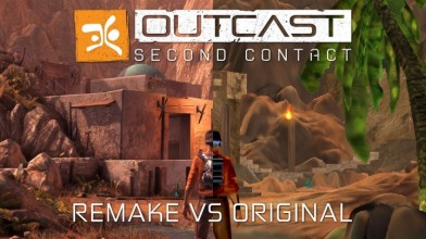 Outcast - Second Contact: Сравнение ремейка с оригиналом