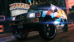 В продаже в Southern San Andreas Super Autos: Mammoth Patriot и Chariot Romero Hearse