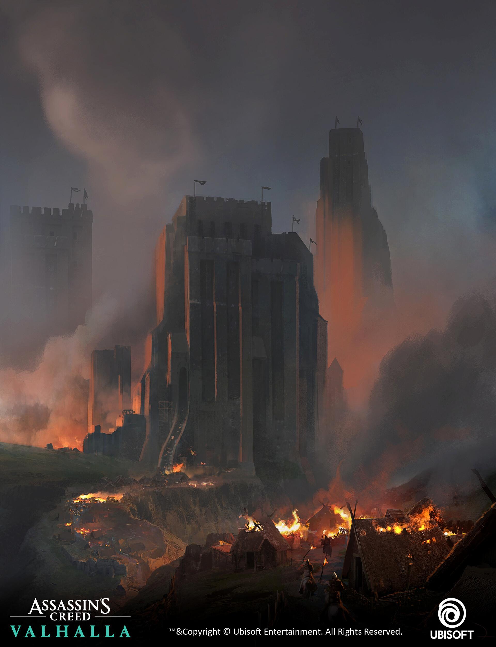 Огромное количество концепт-артов Assassin's Creed: Valhalla