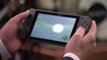 Первая демонстрация действительно работающей версии Nintendo Switch