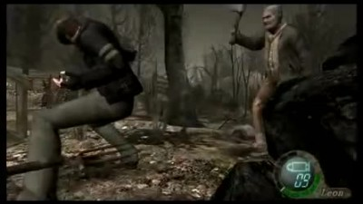Resident Evil 4 PC - Leon's new animation Mod