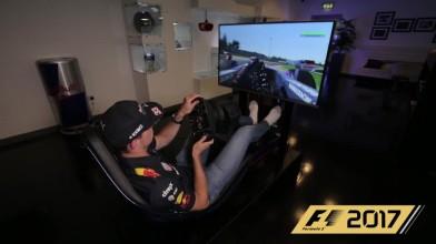 Макс Ферстаппен тестирует F1 2017