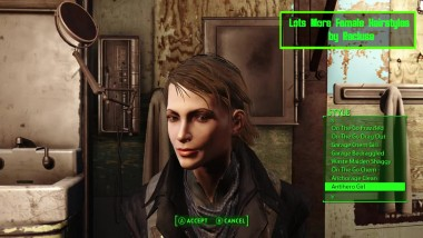 "Fallout 4 ""Бороды / Lots More Facial Hair"""