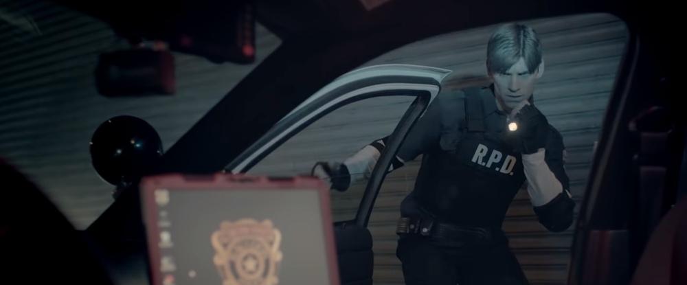 Resident Evil 2 Remake - как снимали трейлер с живыми актёрами