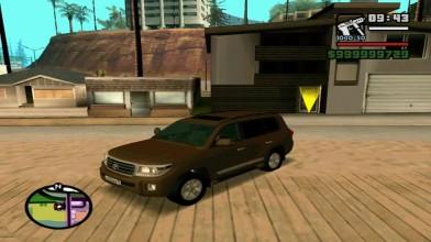 [ТестДрайв] TOYOTA LAND CRUISER 200 мод для GTA: San Andreas
