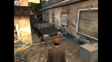 "Mafia: The City of Lost Heaven ""Сэм и поли раскачивают Mercedes"""