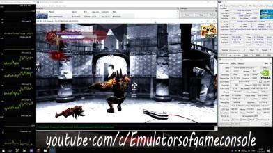 RPCS3 PS3 Emulator - Splatterhouse (2010). Ingame. OpenGL. Test #1