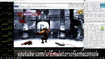 RPCS3 PS3 Emulator - Splatterhouse (2010). Ingame. OpenGL. Test #1