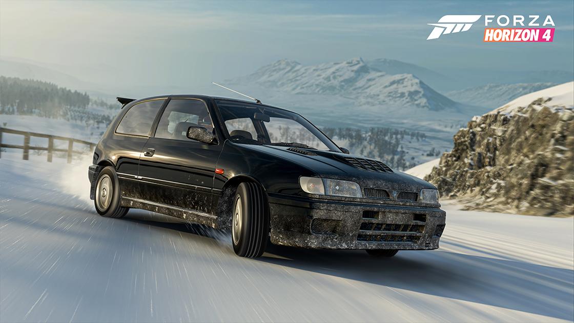 Обновление для Forza Horizon 4 добавляет омологированные раллийные автомобили из 90-х