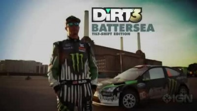 "Dirt 3 ""Tilt Shift Edition трейлер"""