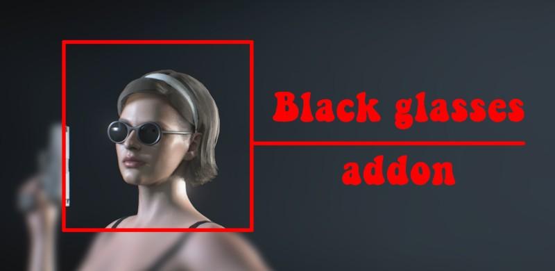 Чёрная версия очков