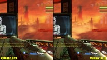 Doom Vulkan Version 1.0.24 Vs 1.0.13 GTX 1080 Частота кадров