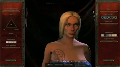 "Age of Conan ""Character Creation Gameplay"""