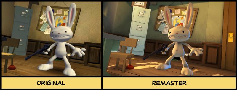 Опубликованы новые скриншоты Sam & Max Save the World Remastered