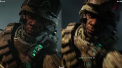 Сравнение графики - Call of Duty Advanced Warfare E3 2014 Demo vs Retail Xbox One