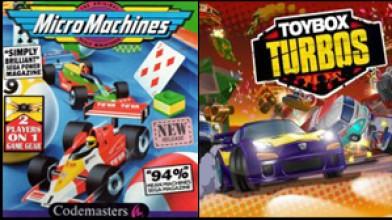 Codemasters анонсировала Toybox Turbos — идейную наследницу Micro Machines.