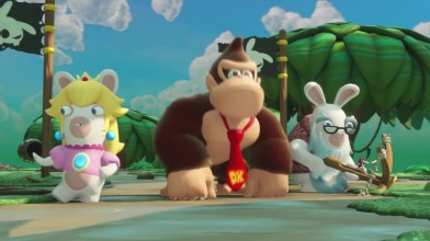 Mario + Rabbids Битва за королевство Приключение Donkey Kong - трейлер выхода
