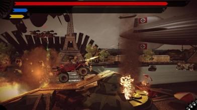Каскадёрский экшен Ironkraft появился в Steam