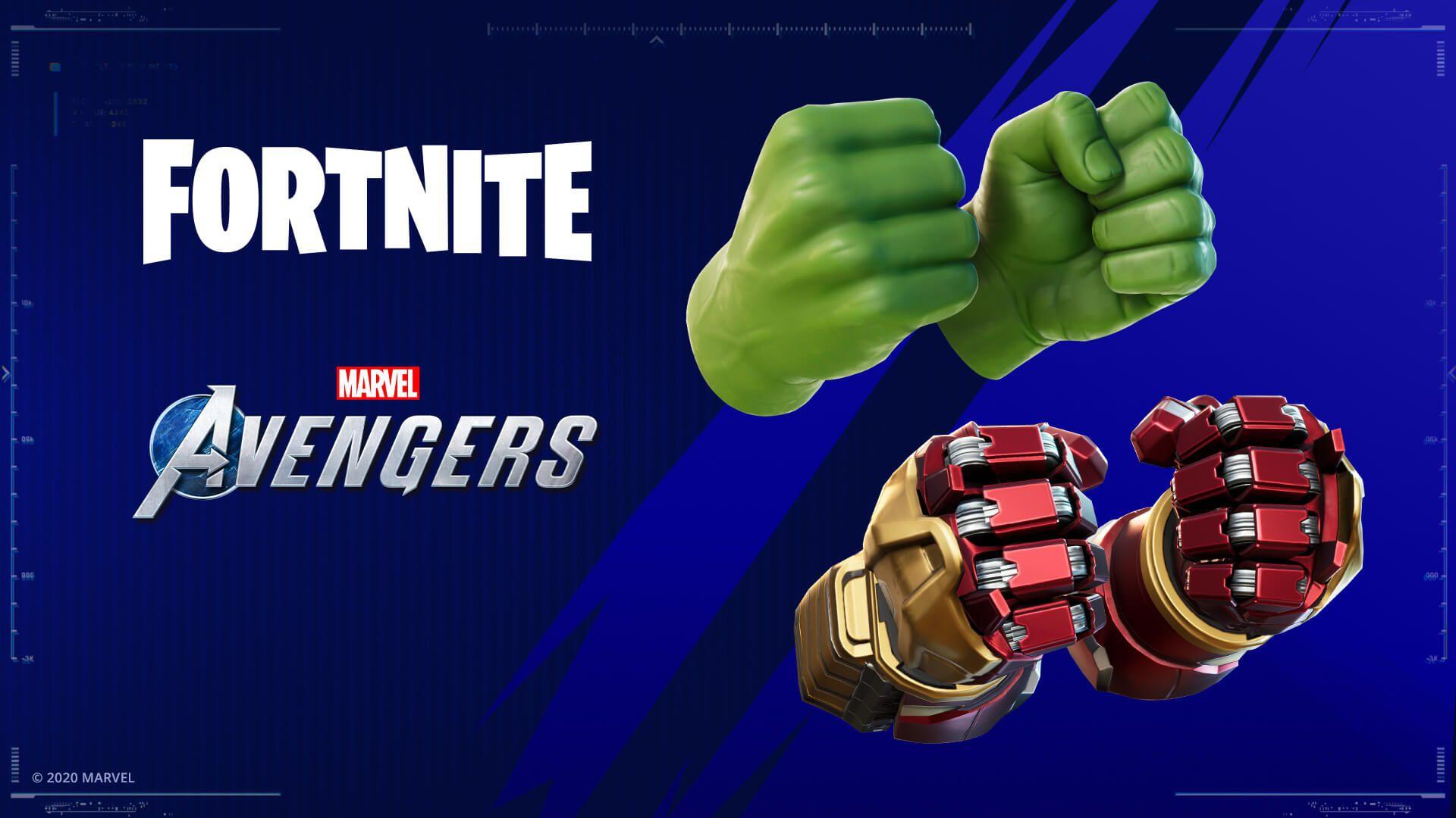 """Участники беты Marvel's Avengers смогут получить """"руки Халка"""" для Fortnite"""