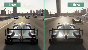 Project CARS � PC ��������� ��������� Low vs. Ultra