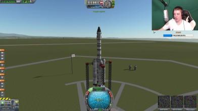 Kerbal Space Program - как тугодум ракету строил. Проходим игру #2
