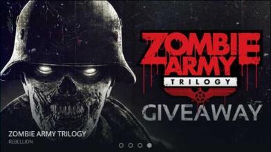 Сервис Gamesessions раздает бесплатно игру Zombie Army Trilogy