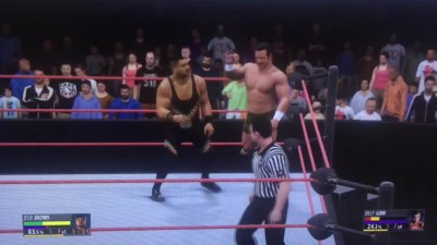 "WWE 2K16 ""Frog splash"""