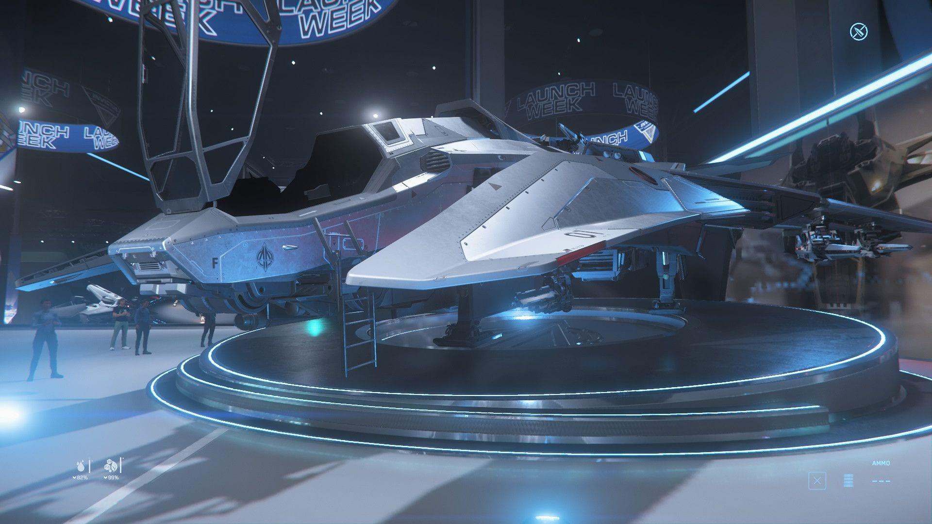 Игроки Star Citizen угнали военный истребитель