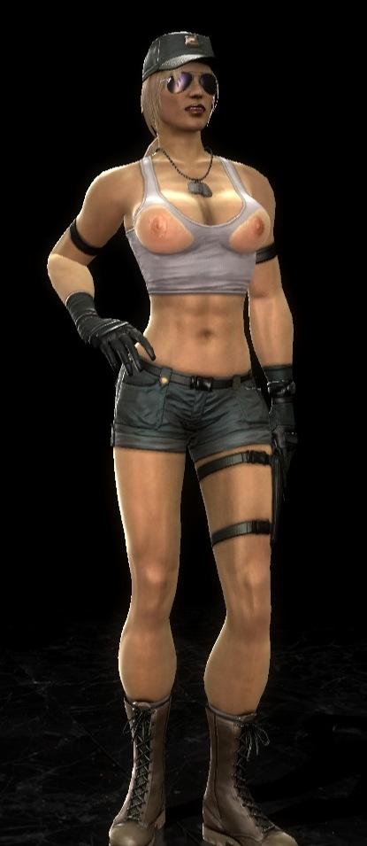 Interracial lesbian strapon