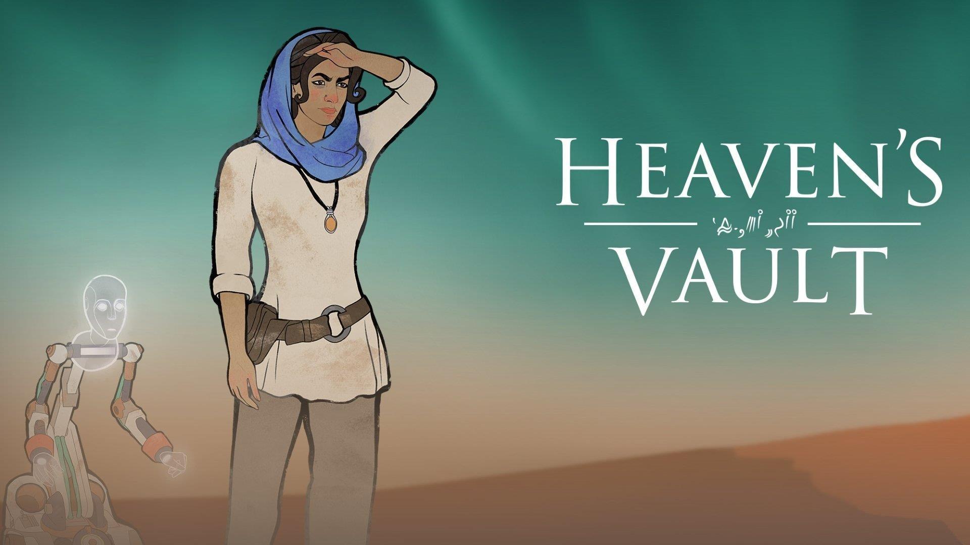 Обзор игры Heaven's Vault