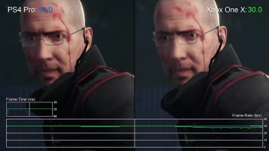 The Evil Within 2: Xbox One X vs PS4 Pro Сравнение графики + Тест частоты кадров (DigitalFoundry)
