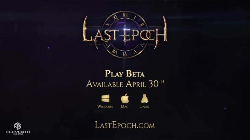 Трейлер бета-теста Last Epoch
