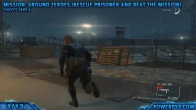 """Metal Gear Solid 5 Ground Zeroes """"Гайд по нахождению всех аудиокассет в игре."""""""