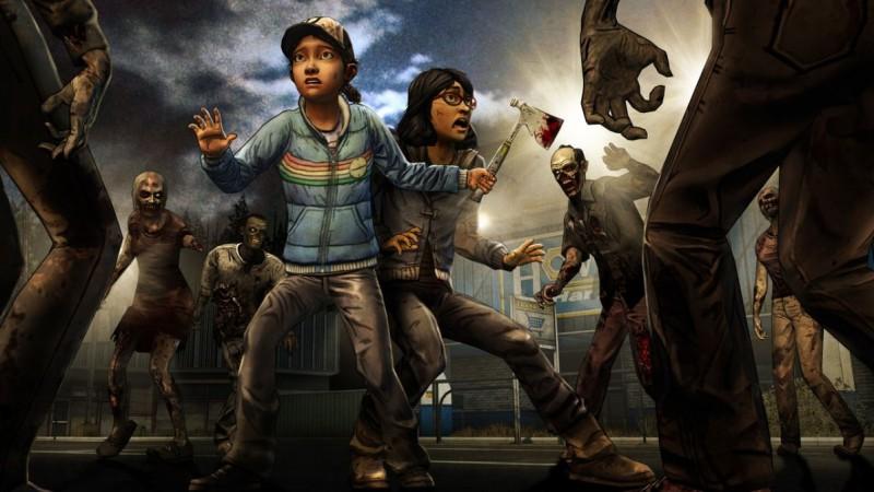 Промо-арт второго сезона The Walking Dead