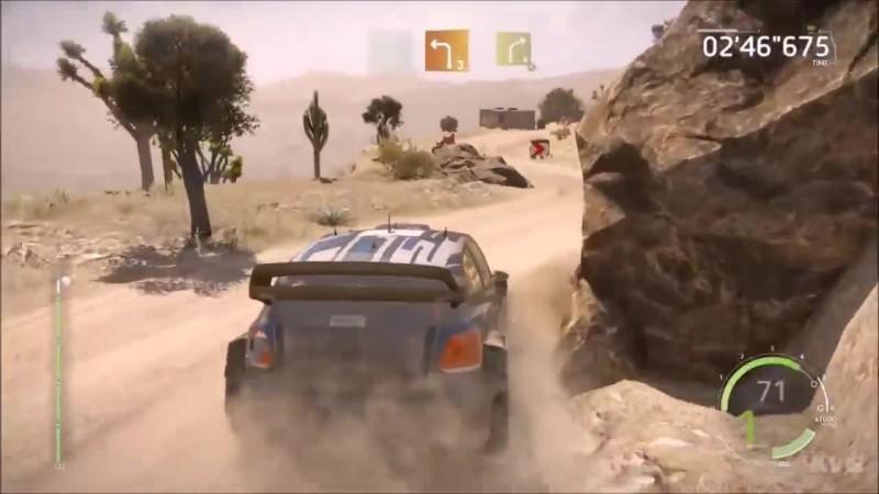 DiRT 4 vs WRC 6 - Геймплей Сравнение (HD)