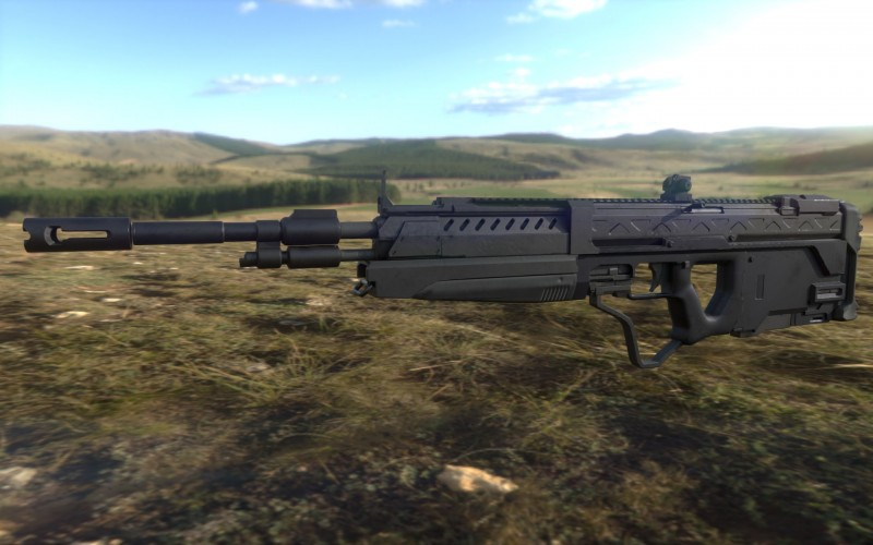 New DMR model and textures