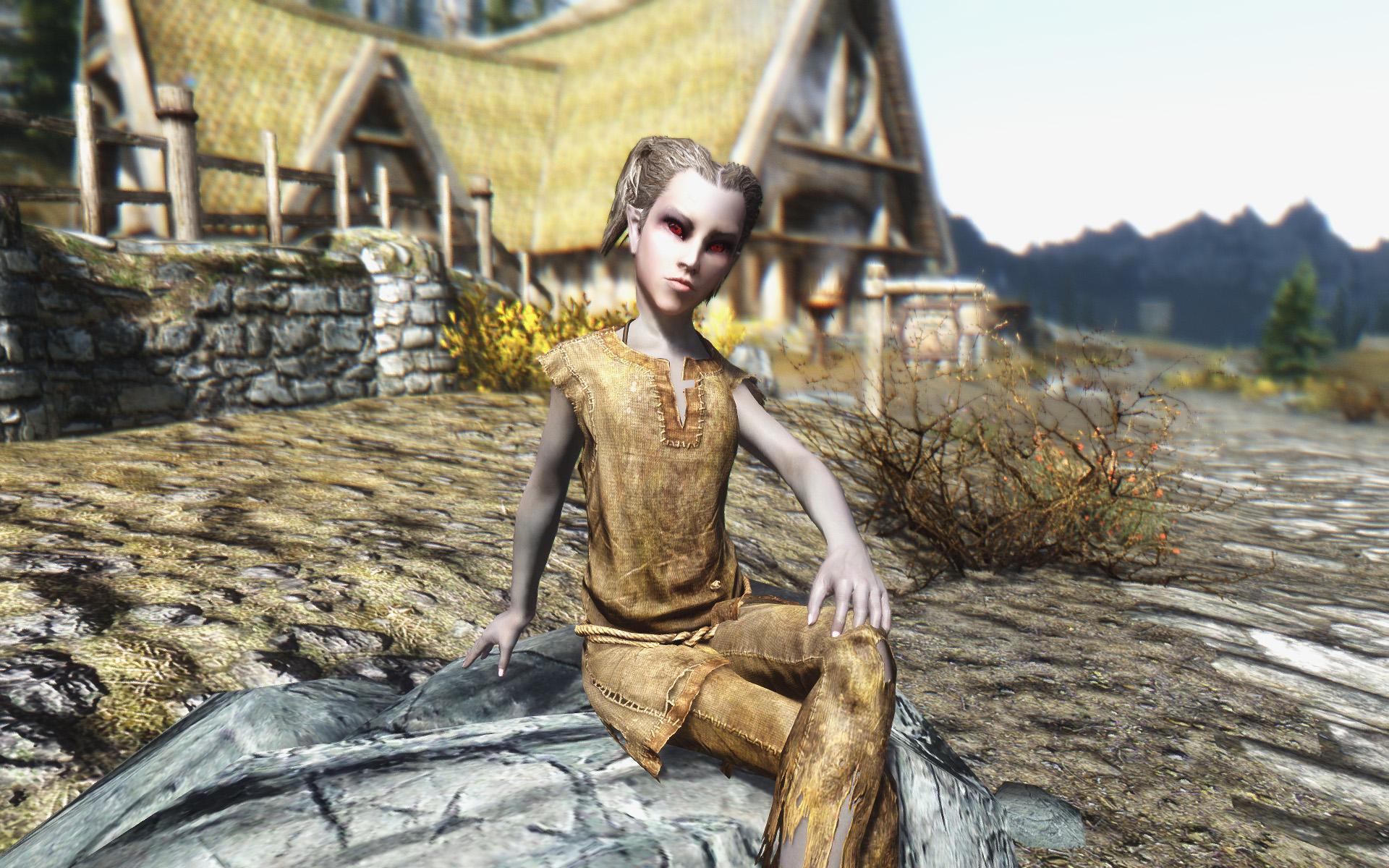 Игры Skyrim 5 моды Дети Скайрима