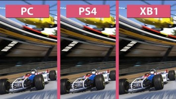 Графика в Trackmania Turbo - PC vs. PS4 vs. Xbox One