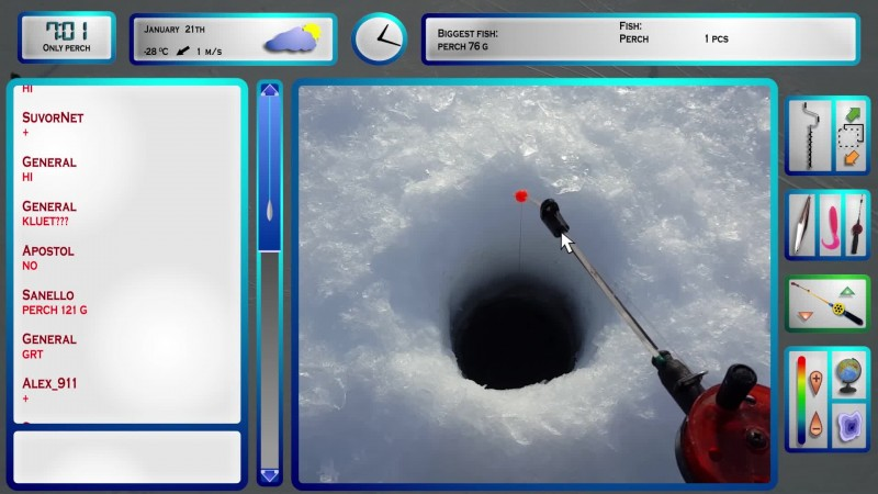 Рыбаки из Братска сняли фанфильм по игре Pro Pilkki 2 ('99), классическому финскому симулятору зимней рыбалки