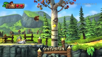 """Donkey Kong Country: Tropical Freeze """"Трейлер игры (Wii U)"""""""