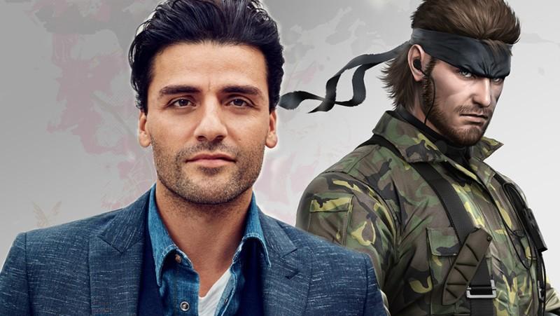"""Оскар Айзек сыграет Солида Снейка в фильме Sony """"Metal Gear Solid"""""""
