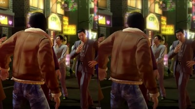 Yakuza 0 PS3 vs PS4 - Графическое Сравнение