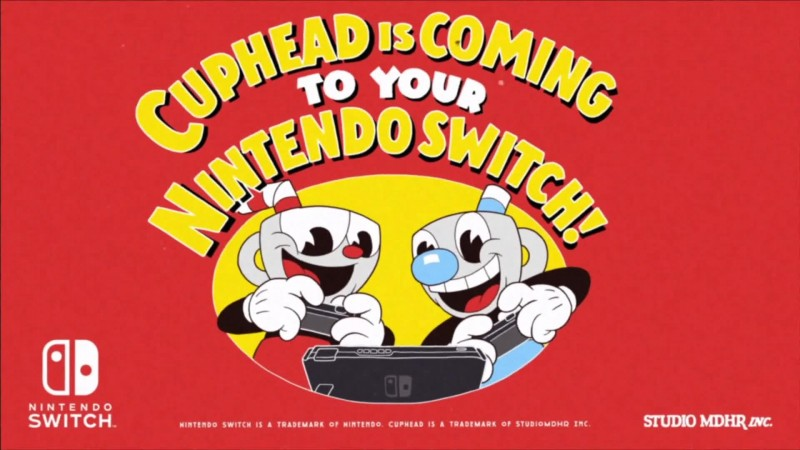 Анонсирующий трейлер Cuphead для Nintendo Switch