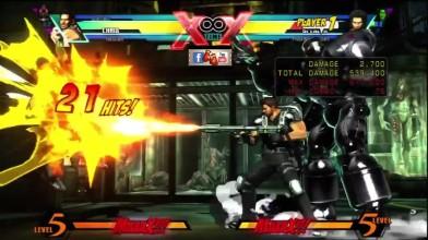 Все комбо Криса Редфилда в Ultimate Marvel vs Capcom 3